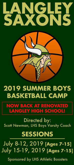 Langley Saxons Boys Basketball Camps - LANGLEY ATHLETIC BOOSTERS